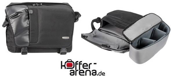 Koffer Arena Werbung