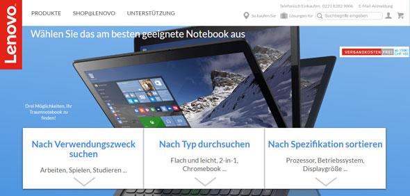 Lenovo Screenshot