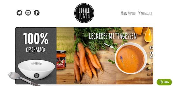Little lunch Webseite