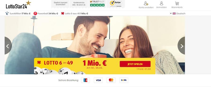 Lottostar24 Shop