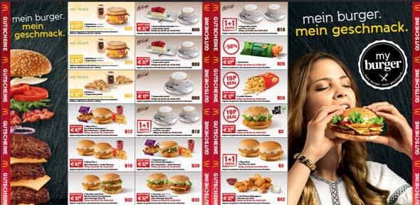 McDonalds AT Coupons zum Ausdrucken