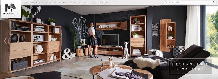 MassivMöbel24 Online Shop