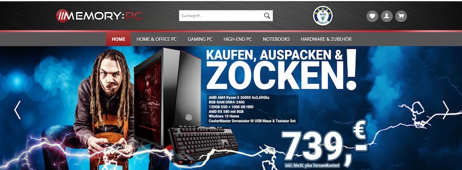 Memory PC Shop