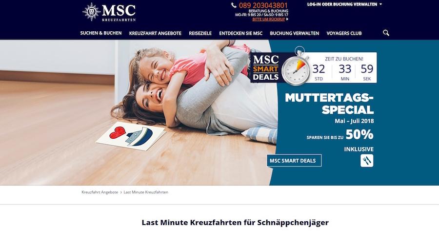 MSC Deals