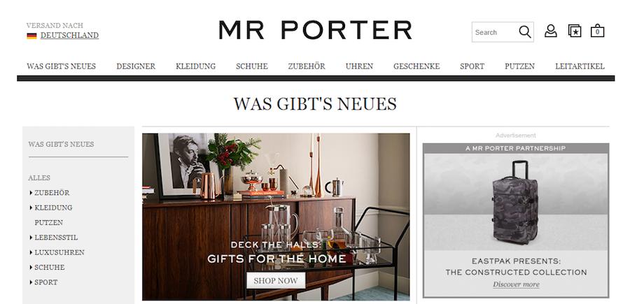 Mr Porter Deals