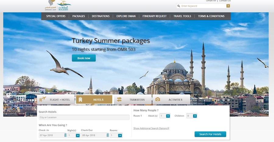 Oman Air Angebote