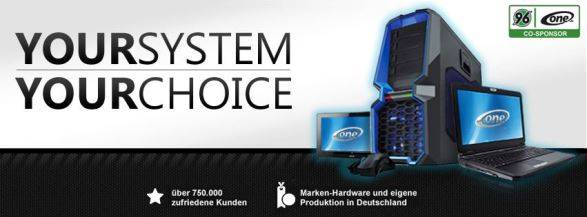 One Computer Shop Banner