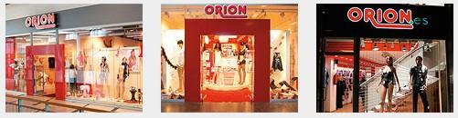 Orion Filialen