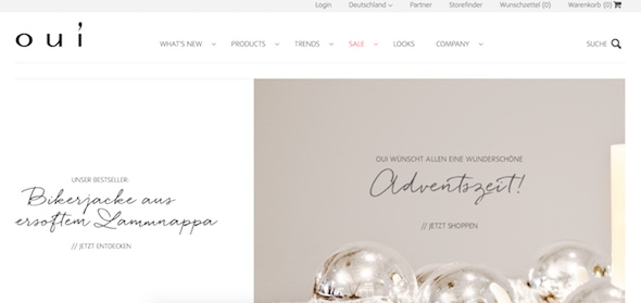 Oui Webseite