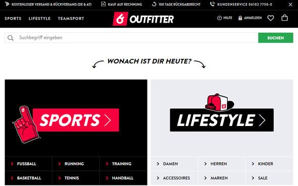 Outfitter Screenshot