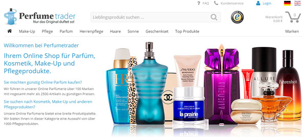 Perfumetrader Screenshot