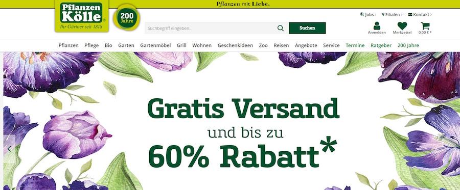Pflanzen Kölle Shop