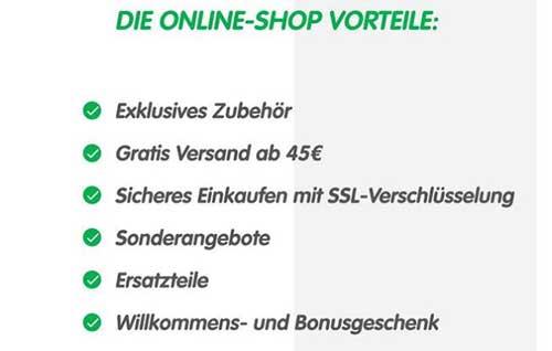 Playmobil Online Shop Vorteile