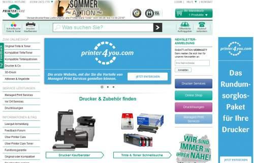 Printer Care Screen