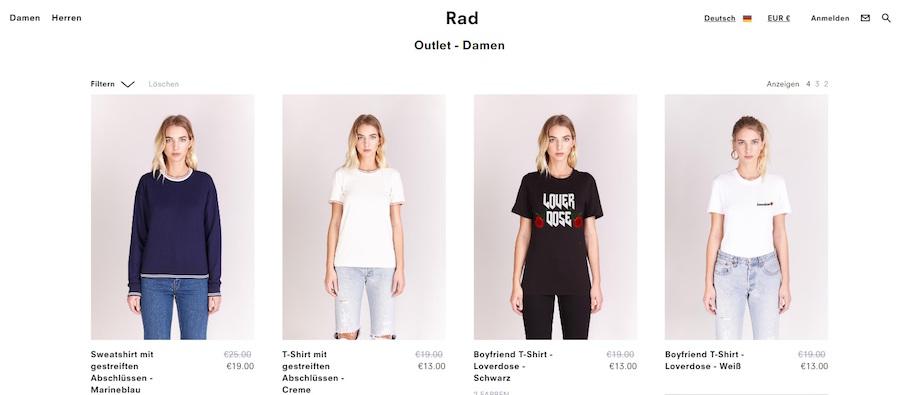 Rad Sale
