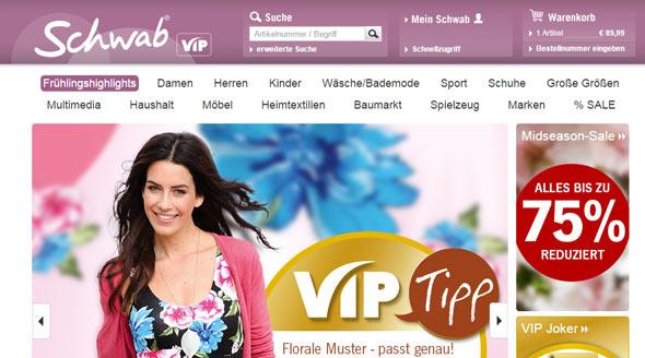 Schwab Screenshot
