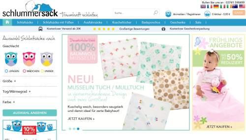 Schlummersack Screen