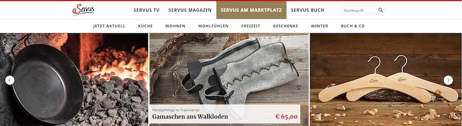Servus Shop