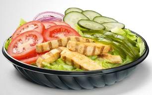 Subway Salatteller