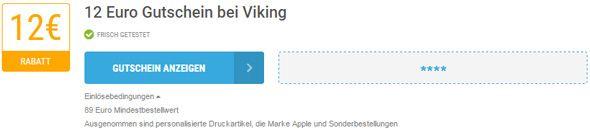 Viking Einlösebedingungen