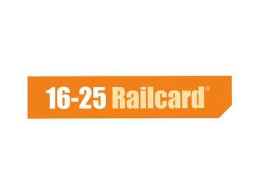 16-25 Railcard logo