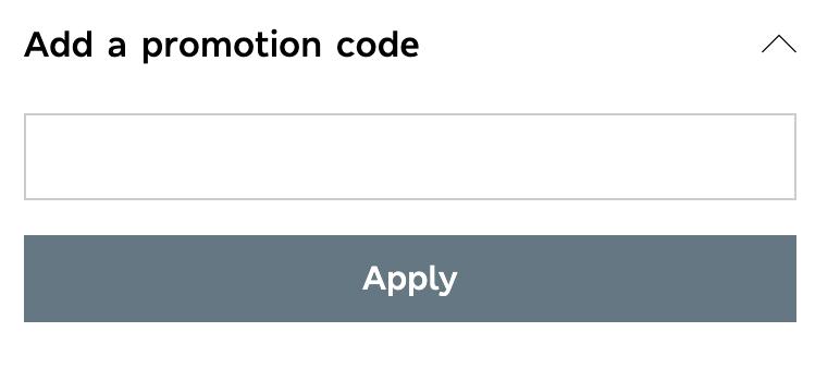 M&S promo code redemption