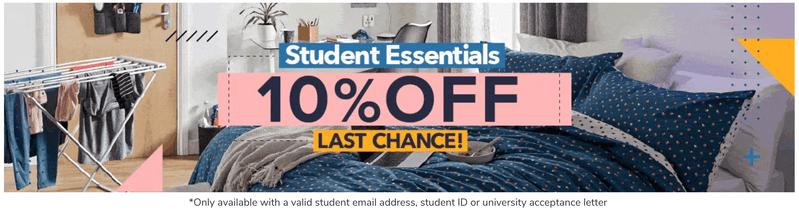 Dunelm student deals